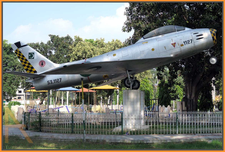 Pakistan Aircraft Monuments